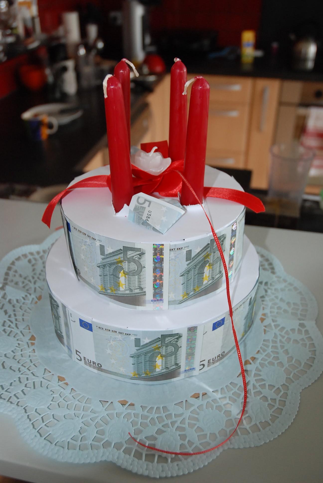 Geldtorte Hochzeit