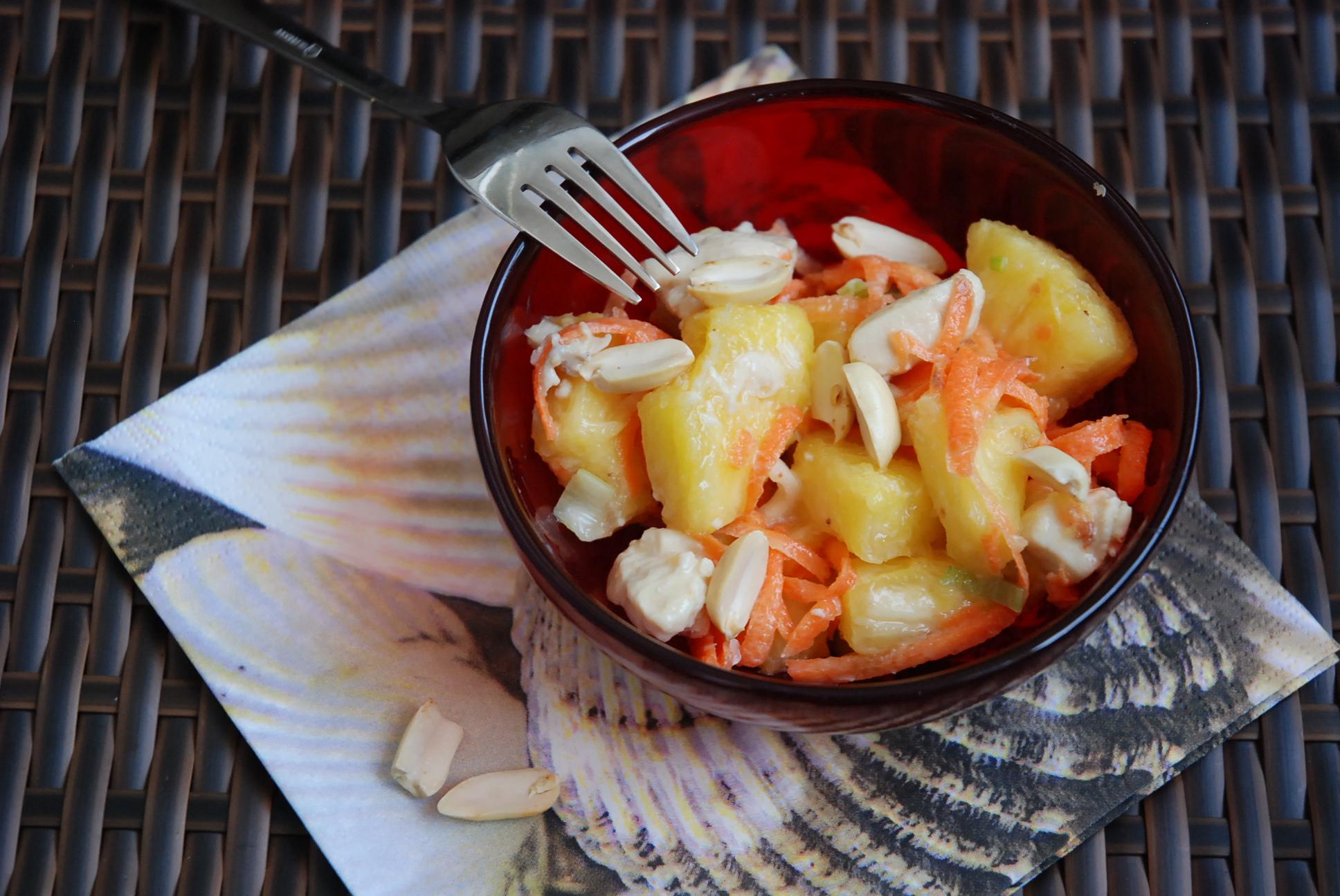 geflügelsalat mit ananas rezepte