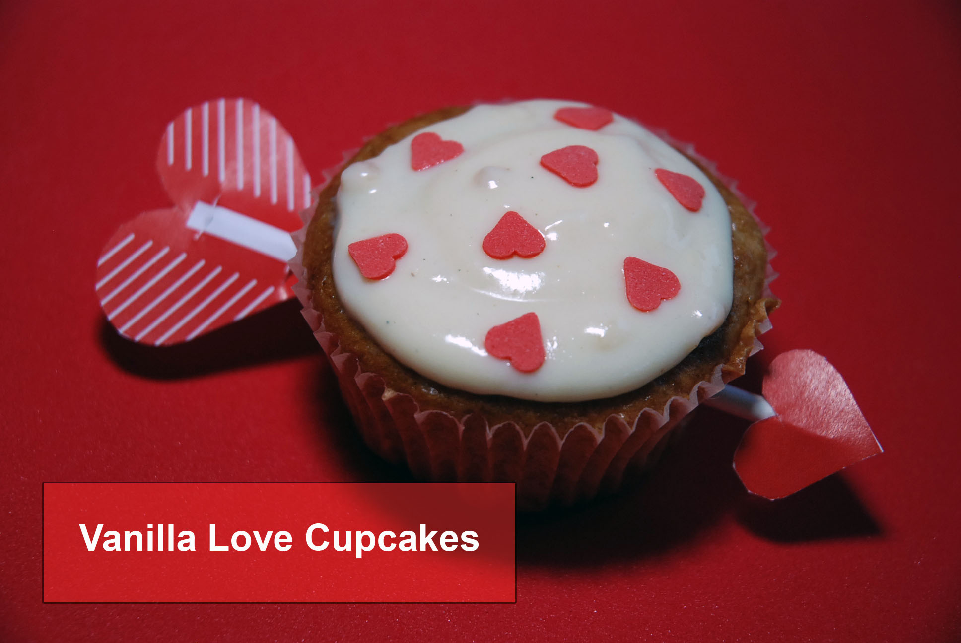 sexy low fat vanilla cupcakes zum valentinstag fit happy. Black Bedroom Furniture Sets. Home Design Ideas