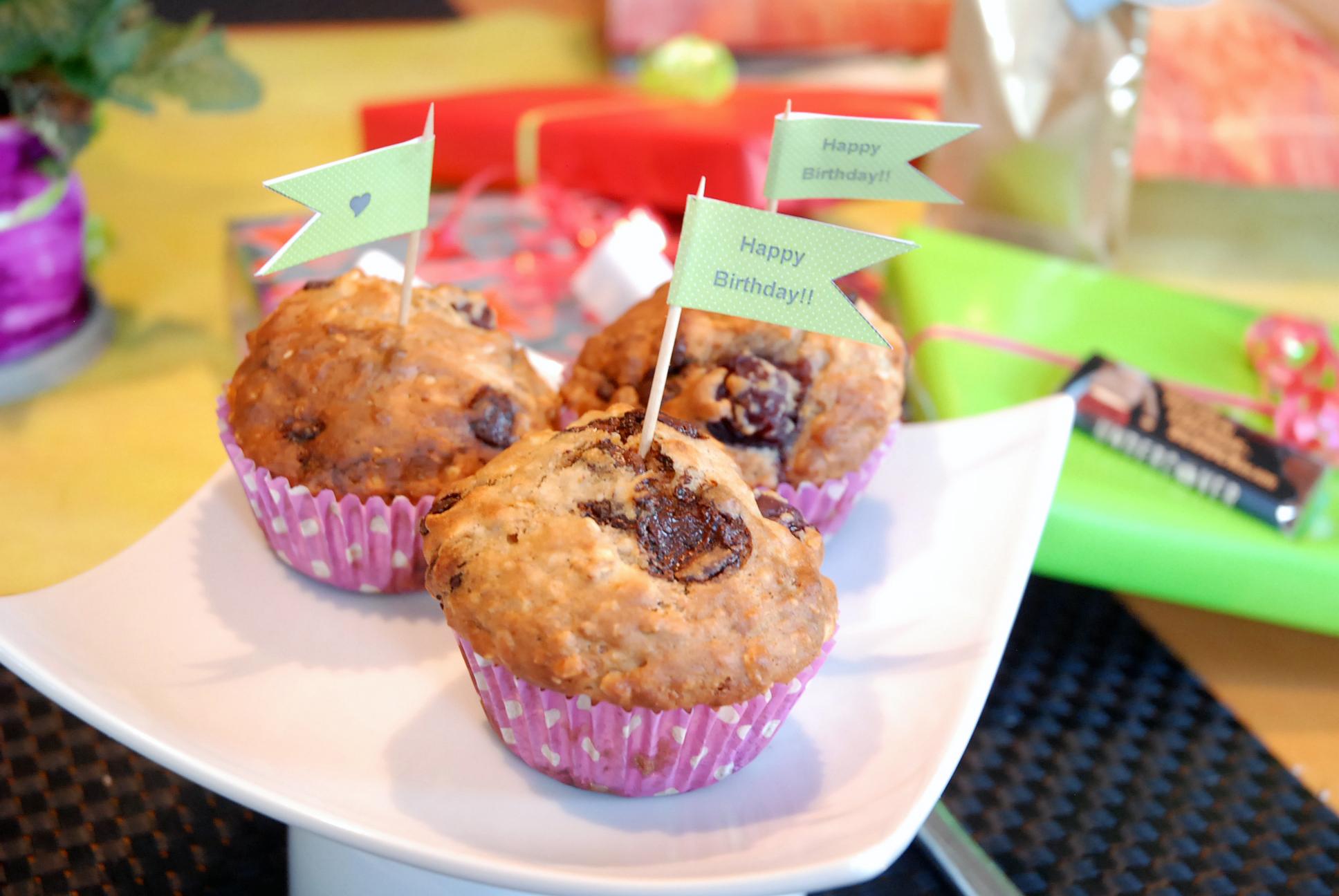 schokolade kirsch muffins