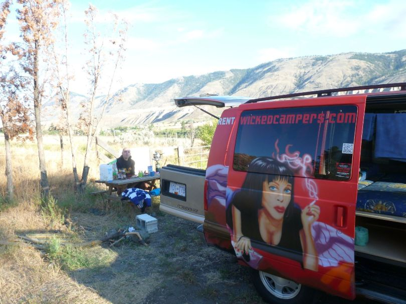 147 Pulp Fiction Mobil und Picknick