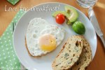 Herziges Spiegelei / Hearty egg sunny side up