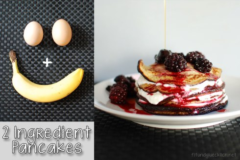 2 Zutaten Palatschinken / 2 ingredient pancakes